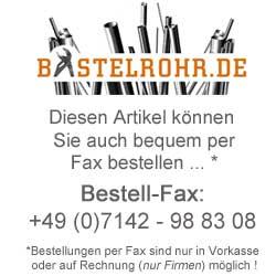 Edelstahl, Edelstahlvollmaterial, Edelstahl kaufen, Edelstahlhändler, Bastelrohr.de, Im Pfädle 18, 71665 Vaihingen an der Enz
